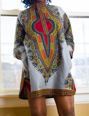 allhonor dashiki dress2