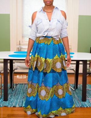 nandy maxi skirt