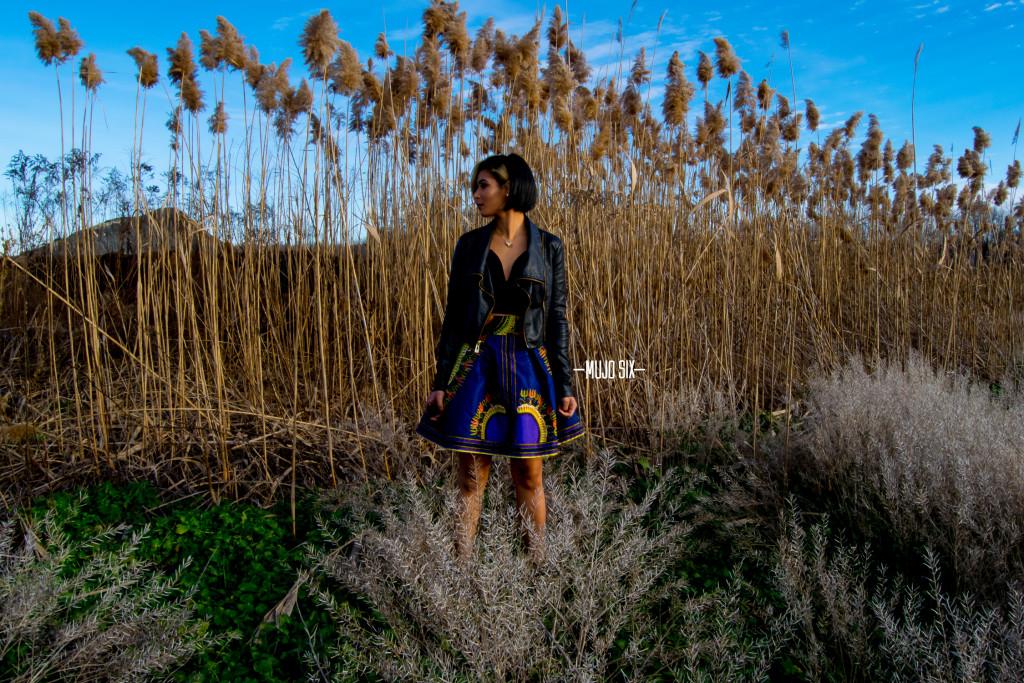 Mujosix mini skirt